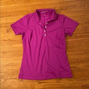 GREAT CONDITION Nike women's golf polo